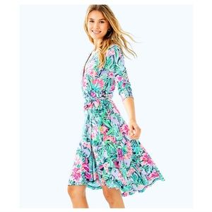 NWT Lily Pulitzer Rozaline Wrap Dress